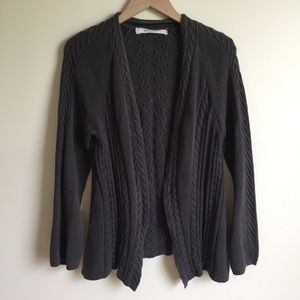 Anthropologie Sparrow Sweater Knit Gray Size M*